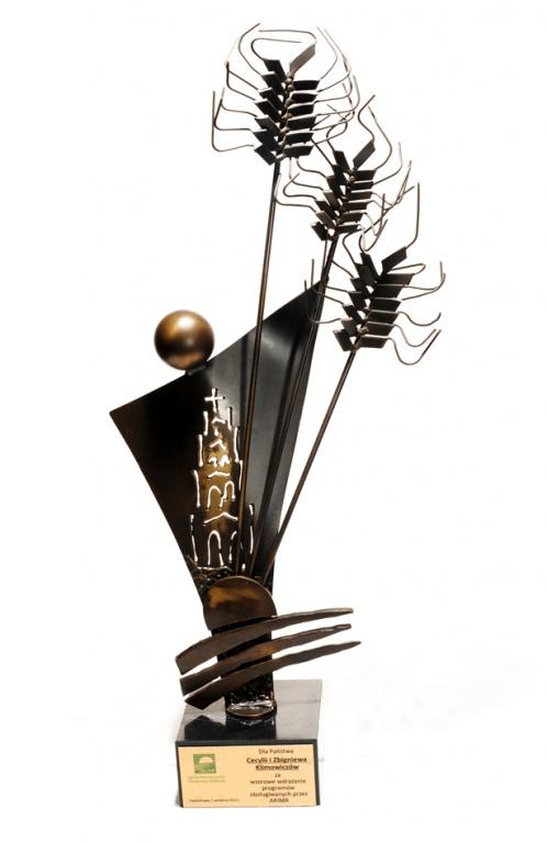 Nagroda za wzorowe wdrażanie programów obsługiwanych przez Agencję Restrukturyzacji i Modernizacji Rolnictwa 2012 rok